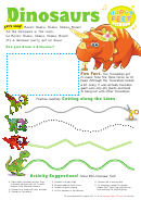 Dinosaur Activity Sheet