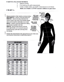 Ballet Clothing Size Chart