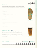 Papillio Footbed Size Chart