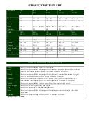 Gramicci Size Chart