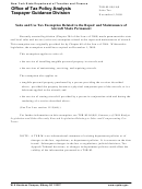 Form Tsb-m-09(18)s - Sales And Use Tax Exemption Related To The Repair And Maintenance Of Aircraft Made Permanent - New York State Department Of Taxation And Finance