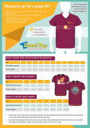 Casual Day Shirt Size Chart