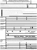 Formulario W-7(sp) - Solicitud De Numero De Identificacion Personal Del Contribuyente Del Servicio De Impuestos Internos (spanish Version)