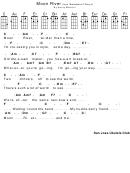 'moon River' Ukulele Sheet Music