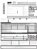Form Cr-q1 - Commercial Rent Tax Return - 2012/13