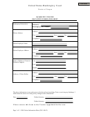 Bankruptcy Trustee Dso Notice Information Sheet - United States Bankruptcy Court - District Of Oregon