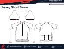 Jersey Short Sleeve Template