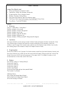 Dinosaurs Lesson Plan Template