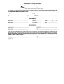 Authorization To Change Information