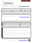 Form Mo W-4p - Withholding Certificate For Pension Or Annuity Statements - 2013