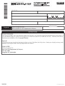 Form Nyc-200v-1127 - Payment Voucher For Nyc-1127 Returns - 2013