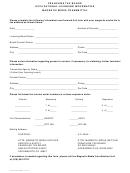 Form Ftb 8303 - Occupational Licensing Information Magnetic Media Transmittal