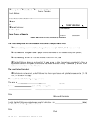 Form Jdf 448 - Final Decree For Change Of Name