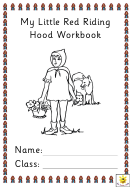 My Little Red Riding Hood Workbook