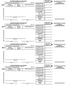 Form J941-501 - Jackson Income Tax Withheld - 2001