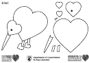 We Love You New Zealand Coloring Sheets