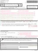Form In-151 - Application For Extension Of Time To File Vermont Individual Income Tax Return - 2004