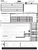 Form Bc1040 - City Of Battle Creek Income Tax Individual Return - 2004
