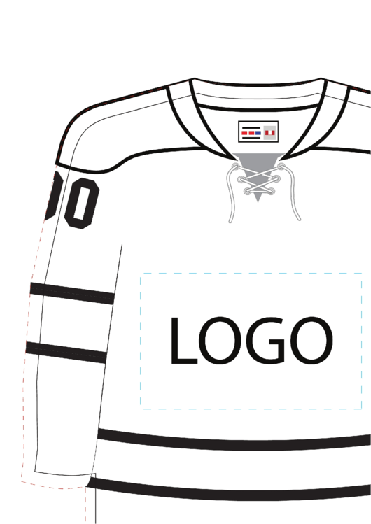 hockey jersey template printable pdf download