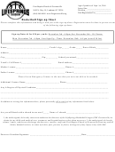 Basketball Sign-up Sheet