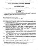Instructions For Completing The Statement Of Information (llc-12)