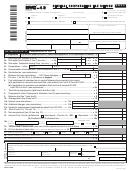 Form Nyc-4s - General Corporation Tax Return - 2011