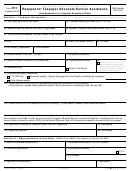 Form 911 - Request For Taxpayer Advocate Service Assistance (and Application For Taxpayer Assistance Order)