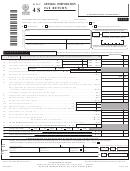 Form Nyc-4s - General Corporation Tax Return - 2006