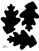 Black Leaf Templates