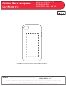 It400: Gel Plastic Smartphone Case-iphone 4/4s Template