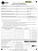 Montana Form Etm - Enrolled Tribal Member Exempt Income Certification/return - 2015