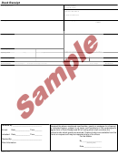 Sample Dock Receipt Template