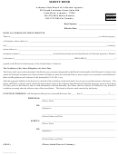 Surety Bond - Arkansas State Board Of Collection Agencies