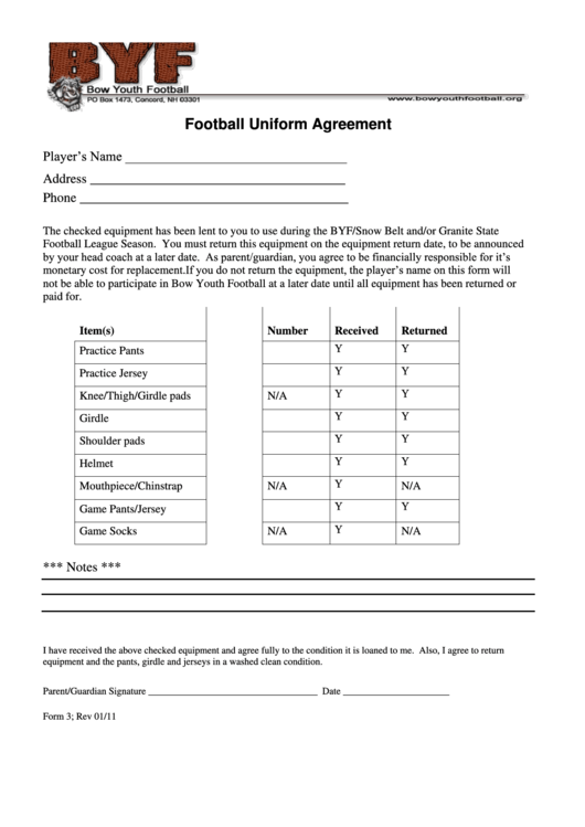 Top Football Uniform Templates Free To Download In Pdf Format
