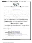 Form Flp - Foreign Limited Partnership Application For Certificate Of Registration