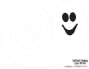 Spinning Ghosts Pattern Template