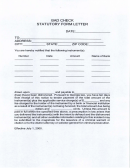 Bad Check Statutory Form Letter Template