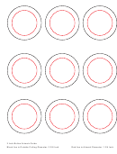 2 Inch Button Artwork Template
