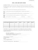 Asset Receipt Form