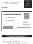 Templates For Customizing Your Newsletter