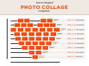 Heart-shaped Photo Collage Template