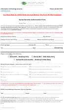Form 010516bc - Aeries Security Authorization Form