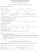 Form Cr-602 - Michigan Indian Tuition Waiver Application