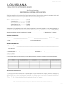 Reciprocal License Application