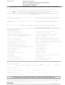 Form Dpssp 6696 - Authorization To Disclose Criminal History Records Information - 2016