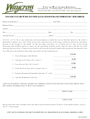 Excise Tax Return On The Sale Of Distilled Spirits By The Drink - City Of Waycross, Georgia