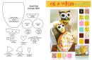 Owl Puppet Template