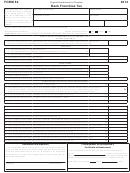 Form 64 - Bank Franchise Tax - 2014