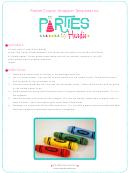 Crayon Wrapper Templates