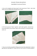 Angel Wings Template With Instructions